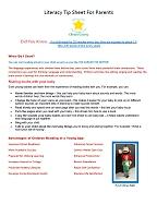 literacy tip sheet thumbnail